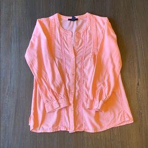 GapKids Peach Shirt ~ Girls Size L